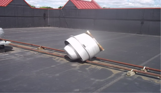 Commercial-Roofing-Discarded-Equipment