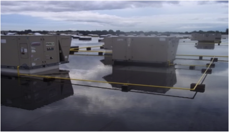 Commercial-Roofing-Ponding-Water