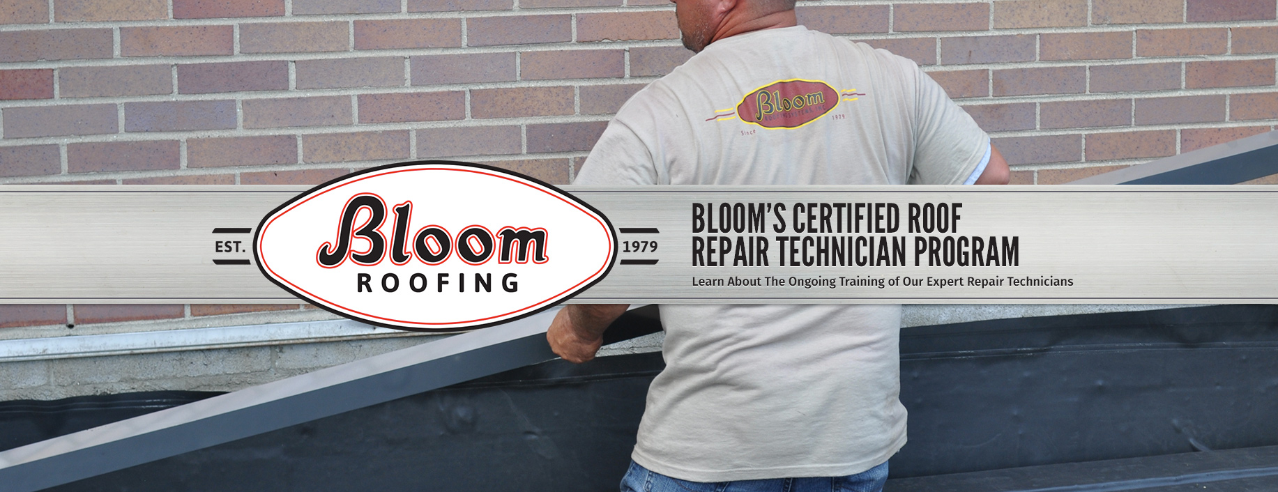 Bloom's Certified Roof Repair Technician Program